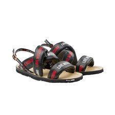 Love Moschino Cross-Sandale - Top-Trend Sporty-Sandale: It-Label Love Moschino macht sie zum dreifachen Fashion-Highlight.