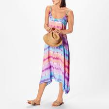 Salty Skin Batik-Trägerkleid - Hochmodischer Batik-Druck, aber traditionell handgefertigt auf Bali. Vom angesagten Beachwear-Label Salty Skin.
