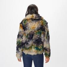 Balatt Couture-Lammfelljacke