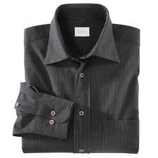 Seersucker-Hemd - Das Seersucker-Hemd in feinster Shirtmaker-Qualität. Von Derek Rose of London. Bügelfrei.