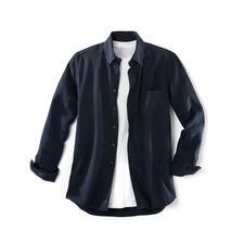 """Tencel®-Denim-Shirt - Dieses """"Jeans""""-Hemd lieben Sie an heißen und an kalten Tagen. Viel weicher als Denim. Viel lässiger als ein gewöhnliches Oberhemd."""