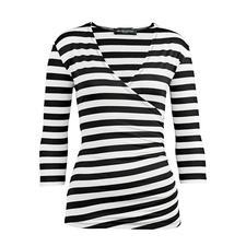 Zauber-Wickelshirt - Das Zauber-Shirt. Nur richtig in Schwarz/Weiß.