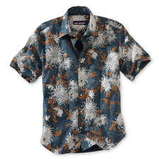 "Reyn Spooner Hawaii-Hemd ""Chrysanthemen"" - Original Hawaii-Hemd von Reyn Spooner - mit dezentem Chrysanthemen-Muster. Hergestellt auf Hawaii."