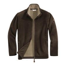 Aigle Polartec®-Jacke, Braun - Endlich eine alltagstaugliche Fleece-Jacke. Dank Polartec® Classic 300 winterwarm, Wind und Wasser abweisend.