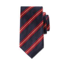 """Ascot Seidenkrawatte """"Regimental Stripes"""" - Klassisch britische """"Regimental Stripes"""": noch immer das Krawattendessin echter Gentlemen."""
