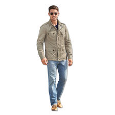 Peuterey Fieldjacket - Selten ist ein Fieldjacket so schick. Ultraleicht, wetterfest, knitterfrei. Von Peuterey, Italien.