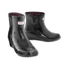 Wedge Welly Chelsea Boots - Weltneuheit: Chelsea Boots mit patentiertem Keilabsatz.