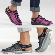 """KEEN®-Outdoor-Sandale """"Uneek™"""", Damen oder Herren - Die derzeit wohl innovativste Outdoor-Sandale: passgenaue Bequemlichkeit vom Outdoor-Spezialisten KEEN®, USA."""