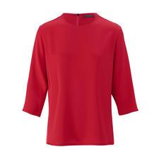 "Strenesse Seiden-Shirt-Bluse - Sportiver Schnitt. Elegantes Material. Strenesse hat die perfekte Bluse zum Thema ""Sporty-Elegance""."