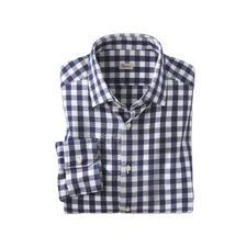 Ingram Seersucker-Karo-Hemd - Luftiges Seersucker-Gewebe. Klassisches Karo-Muster. Das perfekte Sommerhemd zu Smart-Casual-Outfits.