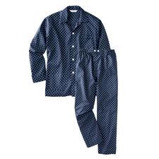Winston-Pyjama - Nachts trägt der Gentleman klassische Tupfen.