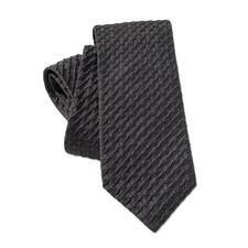 Ascot Relief-Krawatte - So schlicht und doch so außergewöhnlich: die 3D-Krawatte mit Kalander-Relief. Aus 100 % Seide.
