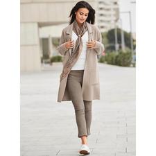 NVSCO Oversize-Mantel - Der eine Mantel für alle Outfits und jede Gelegenheit. Unschlagbar vielseitig. Herrlich unkompliziert.