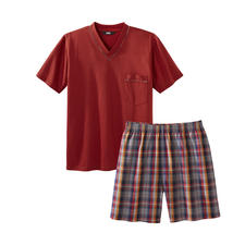 Lieblings-Pyjama No. 24 - Ihr Lieblings-Pyjama zum kleinen Preis. Reine Baumwolle, sauber verarbeitet, made in Germany.