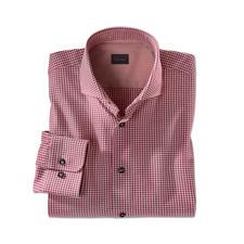 Dorani Light Flanell-Hemd, Bordeaux - Weich und wärmend wie Flanell – aber viel leichter, feiner und kombinierfreudiger.