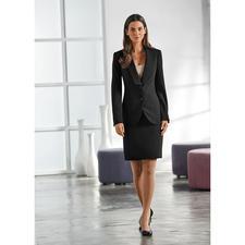 Easywear-Blazer, -Rock oder -Hose - Der unkomplizierte unter den klassischen Business-Anzügen. Blazer, Hose und Rock – vielseitig zu kombinieren.