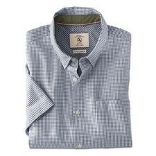 Aigle Outdoor-Hemd - So stilvoll kann ein Outdoor-Funktionshemd sein. Klassischer Schnitt. Dezente Farben. Kleines Karo.