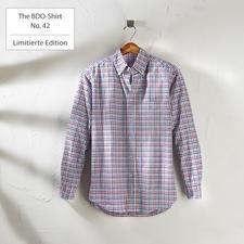 The BDO-Shirt No.42, Kariert - Entdecken Sie einen guten alten Freund. Und vergessen Sie, dass ein Hemd gebügelt werden muss.
