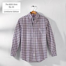 The BDO-Shirt No.44, Kariert - Entdecken Sie einen guten alten Freund. Und vergessen Sie, dass ein Hemd gebügelt werden muss.