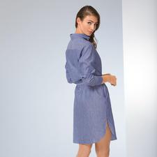 van Laack Blusenkleid - Das Hemdblusenkleid ist wieder en vogue. Besonders gut gelungen bei van Laack.