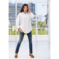 van Laack Oversize-Bluse - Modetrend Oversize-Bluse – erstaunlich feminin und elegant.