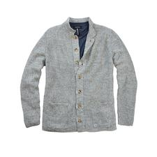 Inis Meáin Pub-Jacket - Ein Klassiker seit mehr als 30 Jahren: das Pub-Jacket von Inis Meáin. Traditionsreiche Strickkunst made in Ireland.