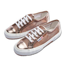 Superga® Metallic-Mesh- Sneakers - Kultige Superga®s: In dieser Saison mit Metallic-Mesh besonders angesagt.