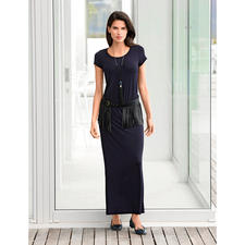 Tencel® Maxi-Kleid - Das selten elegante Jersey-Kleid. Seidiger Tencel-Jersey. Aktuelle Maxi-Silhouette.