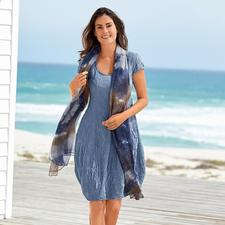Seidencrash-Sommerkleid - Knitterunempfindlich, bügelfrei und absolut blickdicht.