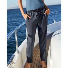 Myths Cool Wool-Damenhose - Lässiger Vintage-Look in edler italienischer Schurwoll-Qualität. Cool Wool, gewebt von Marzotto.