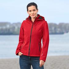 Soft Shell-Damenjacke - Schlank, leicht und trotzdem warm. Jacke aus Soft Shell, mit WindProtect®.