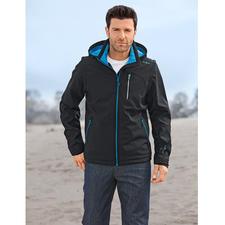 Soft Shell- Herrenjacke - Schlank, leicht und trotzdem warm. Jacke aus Soft Shell, mit WindProtect®.