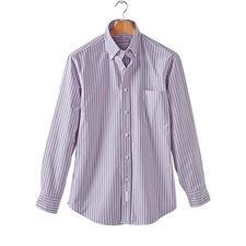 The BDO-Shirt No.47, Gestreift - Entdecken Sie einen guten alten Freund. Und vergessen Sie, dass ein Hemd gebügelt werden muss.