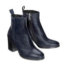 Ma&Lo Lammfell-Stiefelette - So elegant können winterwarme Lammfell-Boots sein.