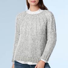 Handstrick-Alpaka-Pullover - Eine Rarität aus den Anden: kostbares Alpaka, handgestrickt statt massengefertigt.