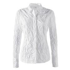 Batist-Stickereibluse - Die klassische weiße Bluse aus edlem Batist, allover bestickt.