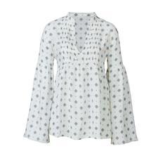 SLY010 Muster-Bluse - Aktuelles Dessin. Zeitgemäßer Stoff. Und der bewährte Basic-Schnitt von SLY010.