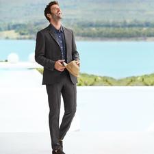 Karl Lagerfeld Holiday-Suit Sakko oder Hose - Der leichte Sommeranzug von Karl Lagerfeld. Business-Look mit Urlaubs-Feeling.