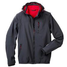 Soft Shell-Herrenjacke - Schlank, leicht und trotzdem warm: die Jacke aus Soft Shell, mit WindProtect®.