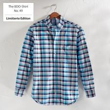 The BDO-Shirt No.49, Kariert - Entdecken Sie einen guten alten Freund. Und vergessen Sie, dass ein Hemd gebügelt werden muss.