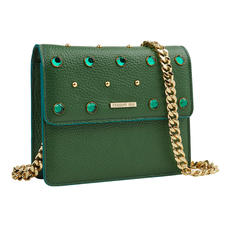 Cerruti 1881 Green Mini-Bag - Trotz der Trendfarbe Grün hochelegant: die Mini-Bag von Cerruti 1881.