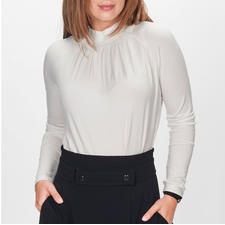 Strenesse Blusen-Shirt - Eleganter Blusen-Look. Bequemes T-Shirt-Feeling.