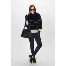 Ainea Fake-Fur-Couturejacke oder -Kragen - En Vogue: Fake Fur de luxe. Am besten vom italienischen In-Label Ainea.