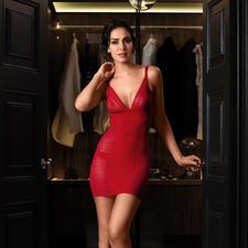 Kleid, Rot