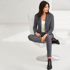 Circolo Jersey-Blazer oder Anzughose - Die Optik edler Anzugtuche – der Tragekomfort von Homewear.