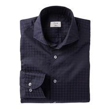 Dufour Modern-Hahnentritt-Hemd - Die stilvolle Umsetzung der angesagten XL-Muster. Trendgerecht groß gemustert – und doch nicht zu plakativ.