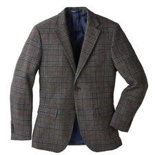 German Tweed® Glencheck-Sakko - Ihr wohl elegantestes Tweedsakko ist in Deutschland gewebt. Klassisches Glencheck-Karo. Leichter, weicher Stoff.