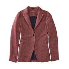 Circolo 1901 Jersey-Fischgrat-Blazer - Elegant wie ein Blazer, bequem wie eine Strickjacke. Gestrickter Jersey, klassisch konfektioniert. Von Circolo 1901.