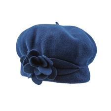 Laulhère Blüten-Baskenmütze - Laulhère fertigt die einzig wahre, 100 % französische Baskenmütze.