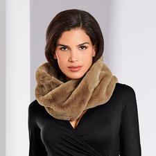 Unechta Fake-Fur-Loopschal - Der Loopschal aus angesagtem Fake-Fur. Modisches Update für Ihre Mäntel, Jacken, Strickjacken, Pullover, ...
